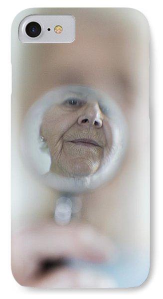 Failing Eyesight, Conceptual Image IPhone Case by Cristina Pedrazzini