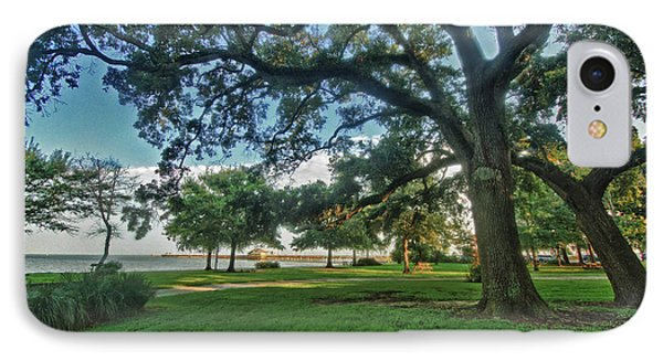 Fairhope Lower Park 4 Phone Case by Michael Thomas
