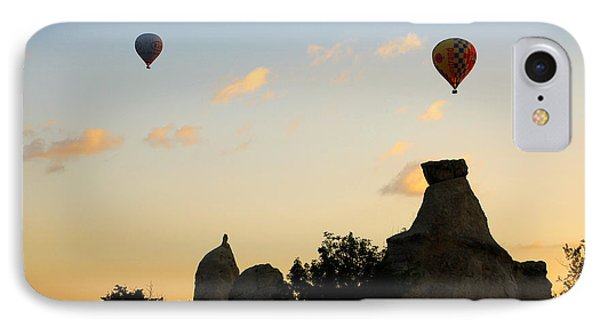 Fairy Chimneys And Balloons Phone Case by RicardMN Photography