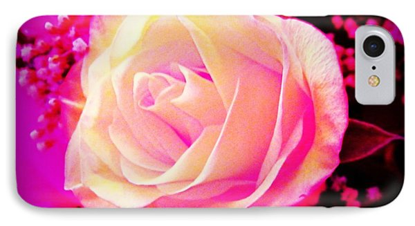 Fairy Rose IPhone Case by Michelle Frizzell-Thompson