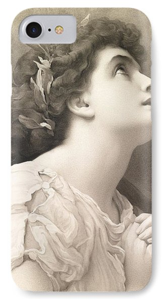 Faith Phone Case by Frederic Leighton
