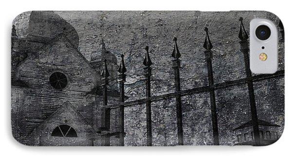 Faith Of Stone  Phone Case by Jerry Cordeiro