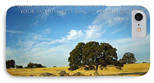 Faithfulness IPhone Case by Bonnie Bruno