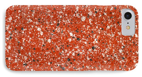 Fake Granite IPhone Case by Henrik Lehnerer