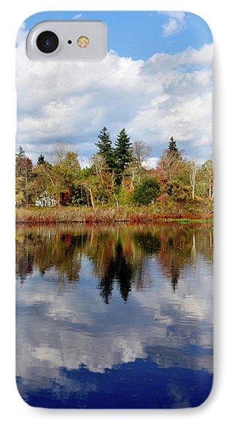 Fall Beginnings IPhone Case by Joanne Brown