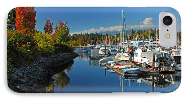 Fall Colors At English Bay Phone Case by Lynn Bauer