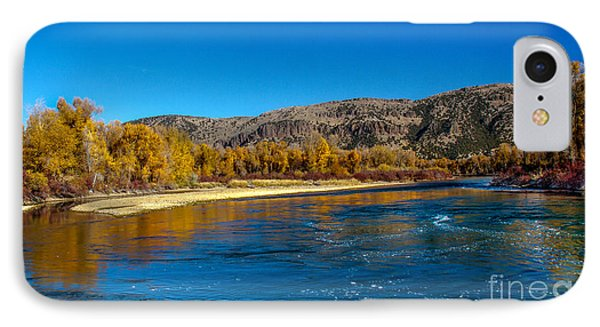 Fall Colors On The Snake River Phone Case by Robert Bales