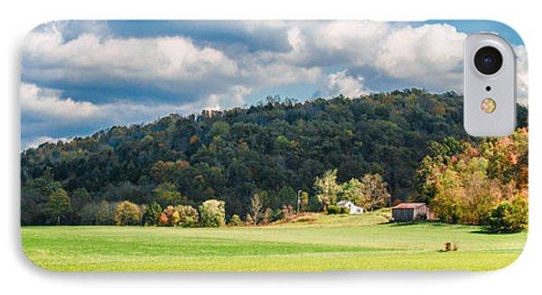 Fall Farm IPhone Case by Mark Bowmer