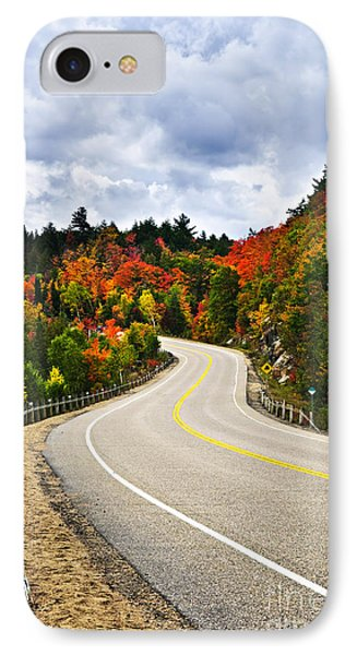 Fall Highway IPhone Case