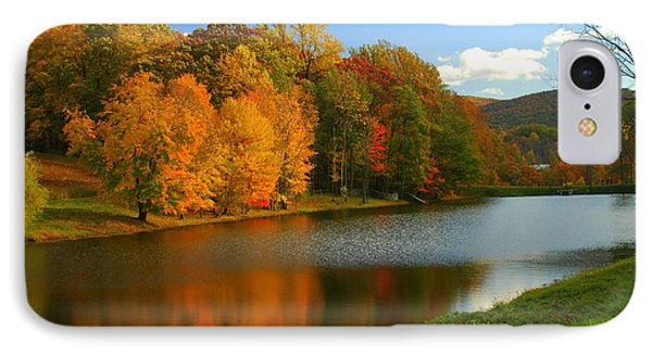 Fall In New York State IPhone Case by Mark Gilman