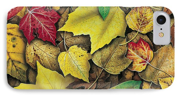 Fall Leaf Study Phone Case by JQ Licensing