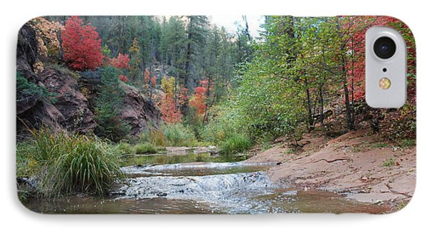 Fall Licks Both Sides Of The River IPhone Case
