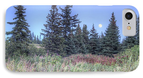 IPhone Case featuring the photograph Fall Moon by Michele Cornelius