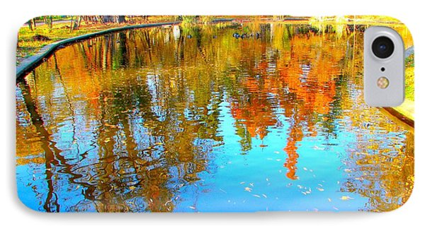 Fall Reflections Phone Case by Ana Maria Edulescu