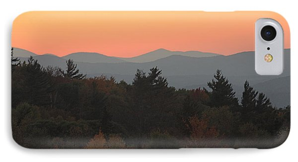 IPhone Case featuring the photograph Fall Sky At Sunset by Robin Regan