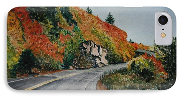 IPhone Case featuring the painting Fall Splendor by Betty-Anne McDonald