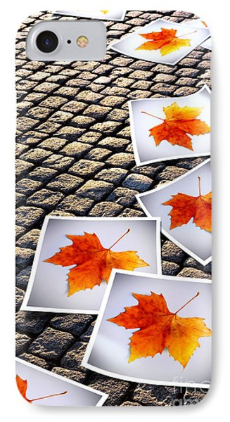 Fallen Autumn  Prints IPhone Case by Carlos Caetano