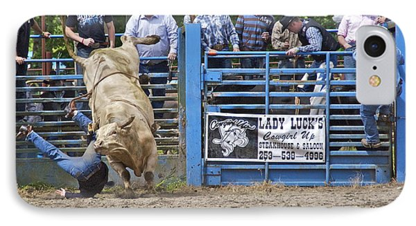 Fallen Cowboy Phone Case by Sean Griffin