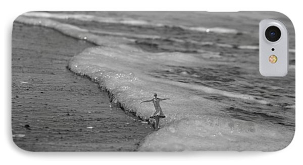 Falling For The Sea IPhone Case