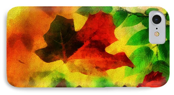 Falling Leaves Phone Case by Anthony Caruso