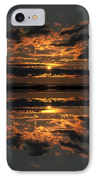 False Sunset Phone Case by Andy Astbury