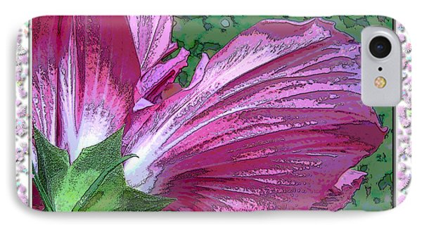 IPhone Case featuring the digital art Fancy Finish by Debbie Portwood