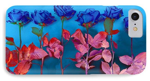 Fantasy Blues Phone Case by Michelle Wiarda