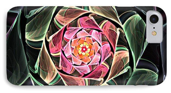 Fantasy Floral Expression 111311 Phone Case by David Lane