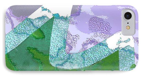 Far Away Mountains Phone Case by Mathilde Vhargon