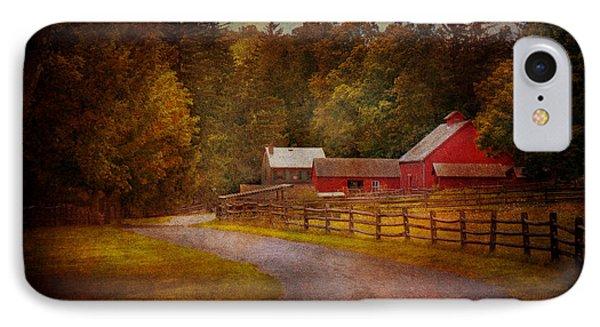 Farm - Barn - Rural Journeys  Phone Case by Mike Savad