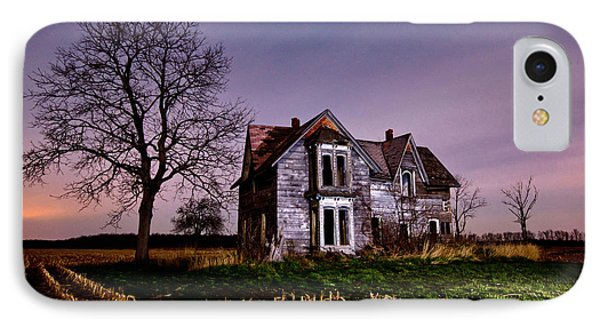 Farm House At Night IPhone Case