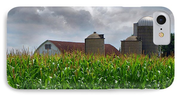 Farm Landscape Phone Case by Ms Judi