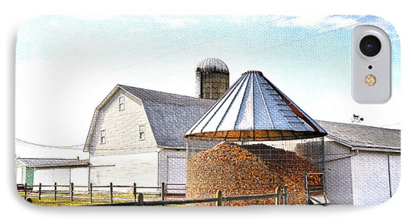 Farm Life Phone Case by Todd Hostetter