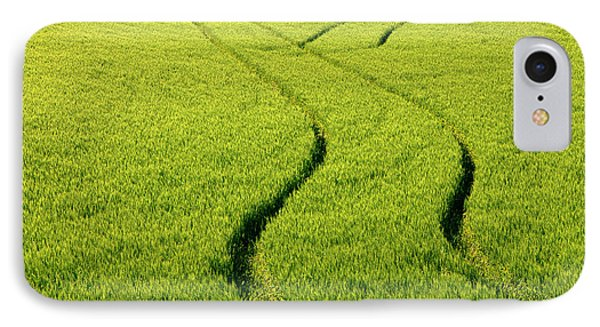 Farm Tracks Phone Case by Mike  Dawson