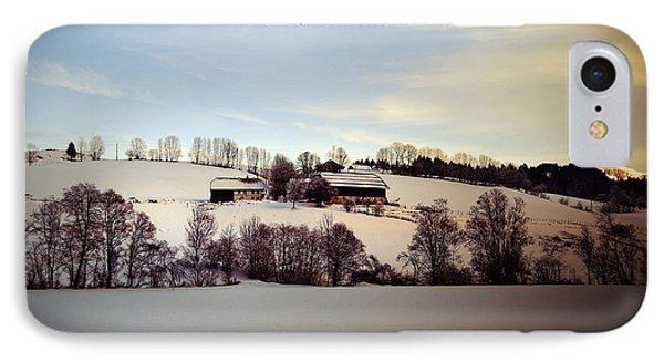 Farmer's Christmas Phone Case by Sabine Jacobs