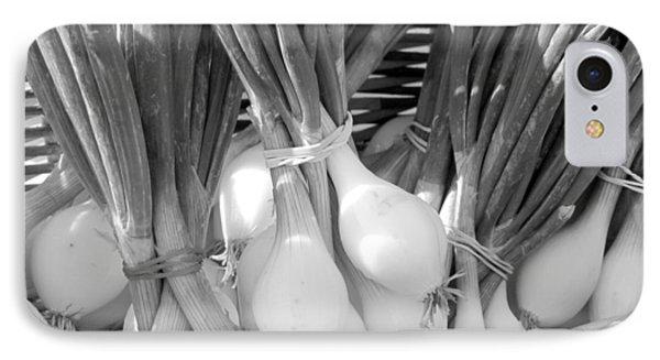 Farmer's Market Green Onions Phone Case by Ann Powell