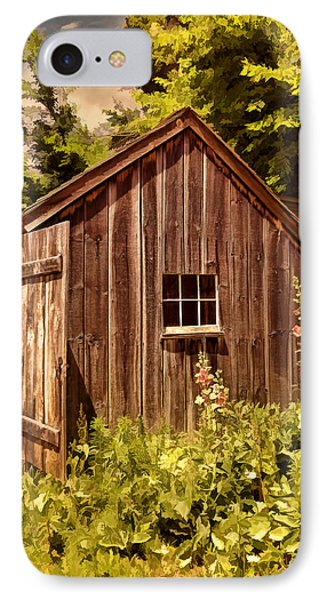 Farming Shed IPhone Case by Lourry Legarde