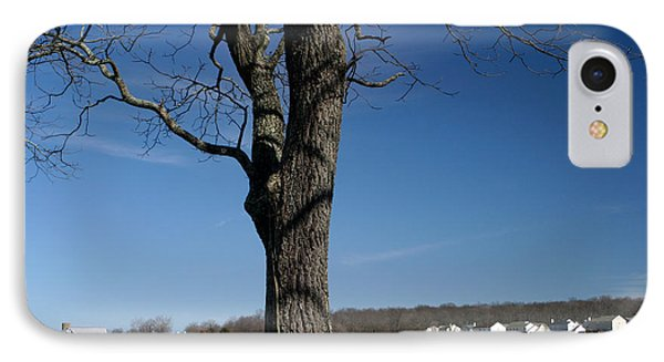 IPhone Case featuring the photograph Farmland Versus Development by Karen Lee Ensley