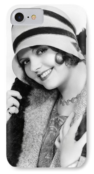 Fashion: Cloche Hat, 1929 Phone Case by Granger