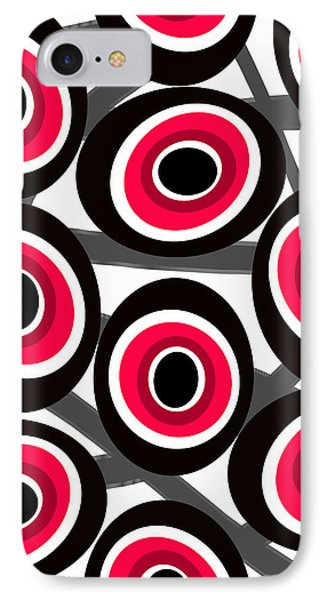 Fashion Spots  IPhone Case by Louisa Knight
