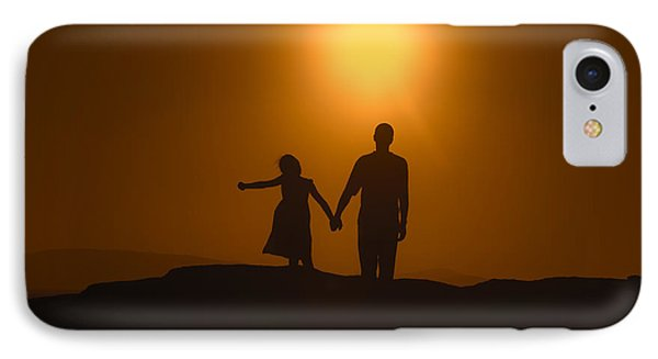 Father And Daughter Phone Case by Joana Kruse