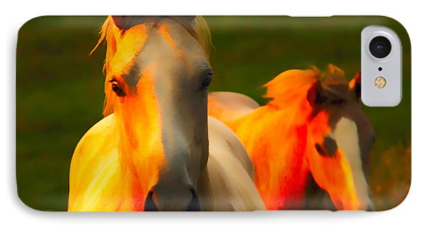 Father And Son Phone Case by Randall Branham