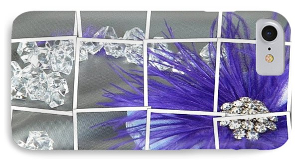 Feather And Jewels IPhone Case by Michelle Frizzell-Thompson