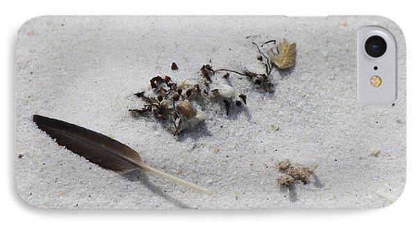 Feather IPhone Case by Deborah Hughes