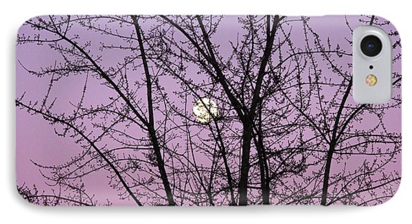 IPhone Case featuring the photograph February's Full Moon by Rachel Cohen