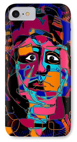 Feeling Blue Phone Case by Natalie Holland