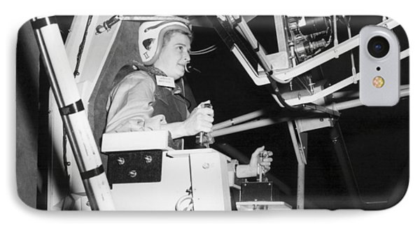 Female Astronaut Training Phone Case by Nasa