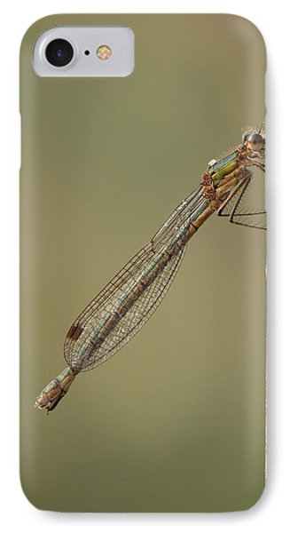 Female Emerald Damselfly Phone Case by Andy Astbury