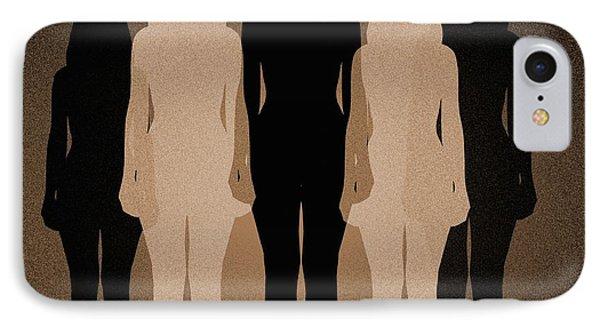 Female Identity, Conceptual Image Phone Case by Victor De Schwanberg