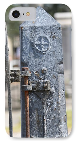 Fence Post Phone Case by Renee Barnes